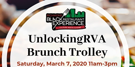 UnlockingRVA Brunch Trolley: Black Restaurant Experience tickets