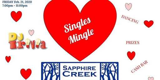 Sapphire Creek Single & Mingle Night