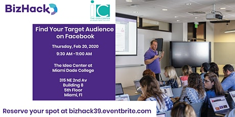 Find Your Target Audience on Facebook tickets