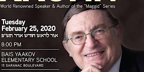 Annual Tomchei Shabbos Lecture tickets