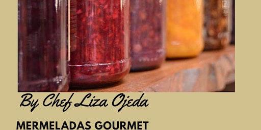 Mermeladas gourmet, con la Chef Liza Ojeda en Anna Ruíz Store