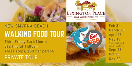 Lexington Place Eat NSB Walking Food Tour tickets
