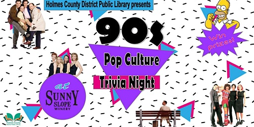 90s Pop Culture Trivia Night