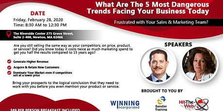 5 Most Dangerous Trends Facing Business Today tickets