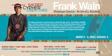 Frank Waln | Songs and Stories from Lakota Country tickets