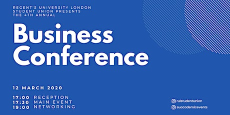 4th Annual Business Conference tickets