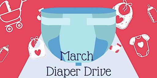 March Diaper Drive