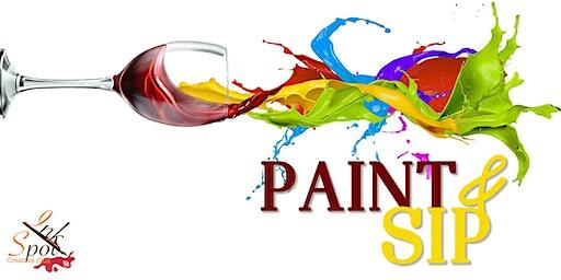 Paint,  Sip & Dip