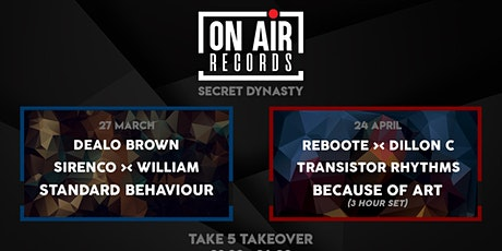 On Air Records: Secret Dynasty tickets