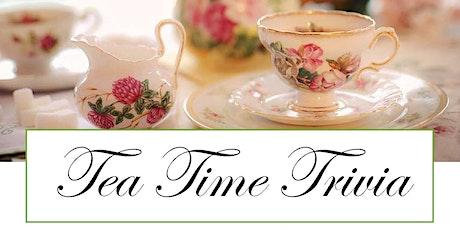 Tea Time Trivia billets