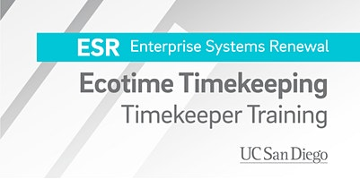 Ecotime Timekeeper In-Person Training