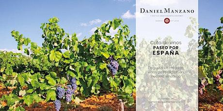 Cata de vinos - Paseo por España tickets
