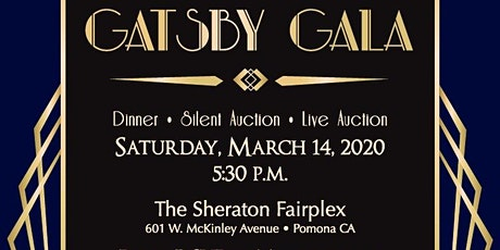 2020 Gatsby Gala Annual Dinner Auction tickets