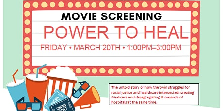 Film Screening- Power to Heal tickets