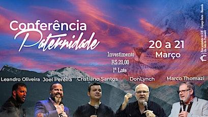 Conferência Paternidade ingressos