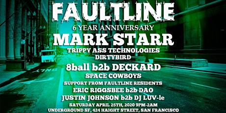 Faultline - 6 Year Anniversary! tickets