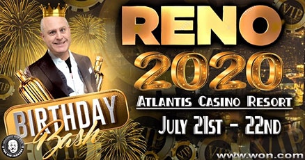The Raja's Birthday Bash at Atlantis Casino Resort Spa in Reno tickets