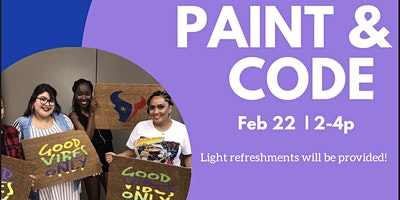 THE PAINT & CODE PARTY