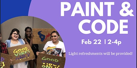THE PAINT & CODE PARTY tickets