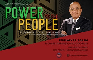 Power To The People: A Foundation of A New Birmingham