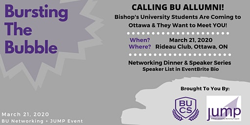 Bursting The Bubble - BU Student & Alumni Networking Event