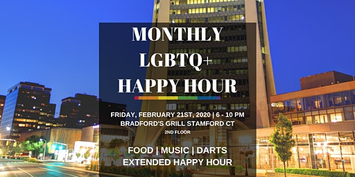 Fairfield County's Monthly LGBTQ Happy Hour Social