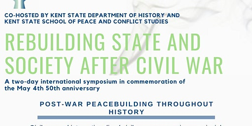 Rebuilding State and Society after Civil War: Post War Rebuilding