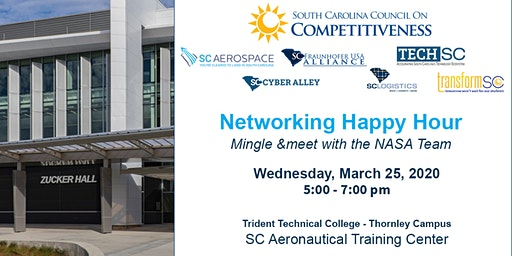 SC Council on Competitiveness Spring 2020 networking event