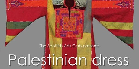 A unique display of stunning, hand-embroidered Palestinian national dresses tickets