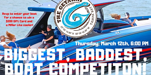 The BIGGEST, BADDEST BOAT COMPETITION