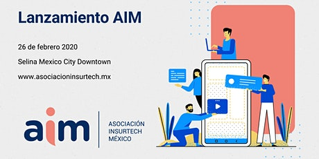 Lanzamiento Asociación Insurtech México boletos