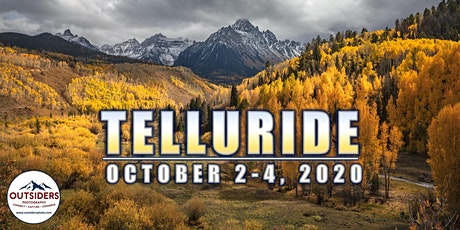 Telluride 2020 - Outsiders  Photography Conference tickets