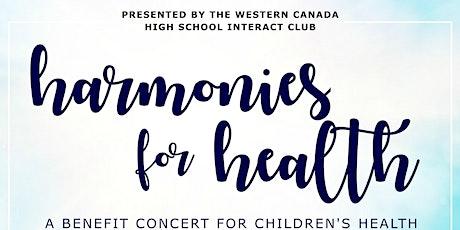 Harmonies for Health tickets