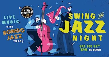 Swing & Jazz Night! Live Music!