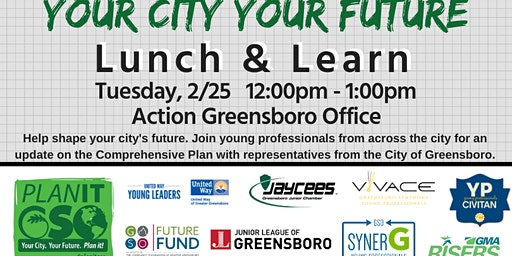 Your City Your Future Lunch & Learn