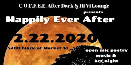 "COFFEE After Dark & Hi Vi Lounge presents ""Happily Ever After"" tickets"