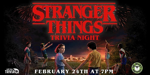 Stranger Things Trivia Night at Fat Head's Brewery