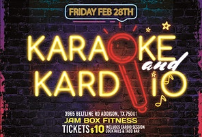 Karaoke & Kardio: Cardio Sweat Session at Jam Box Fitness