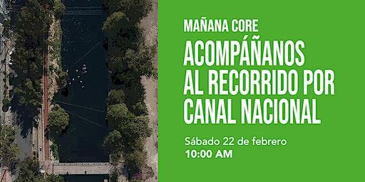 """Mañana CoRe: """"Recorrido por Canal Nacional"""""""
