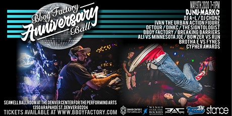 Bboy Factory Anniversary Ball tickets