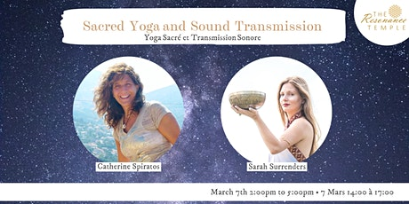 Sacred Yoga and Sound Transmission tickets