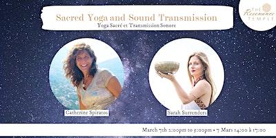 Sacred Yoga and Sound Transmission