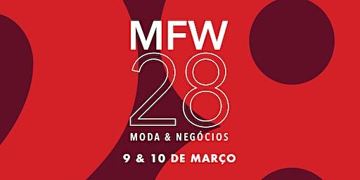 MFW28 | Moda & Negócios | Experiência Fashion | Palestras