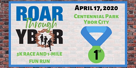 Roar Through Ybor 5K Race and 1-Mile Fun Run tickets