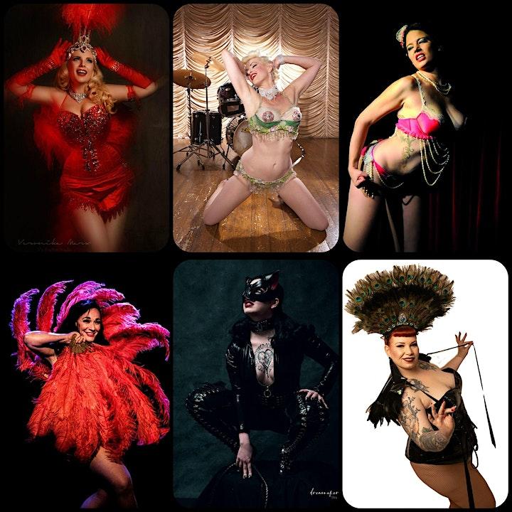 Shhhh--- it's Burlesque - Halloween Show V.I.P. Ticket: Bild