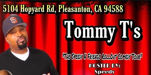 Speedy & Friends Comedy *Discount tickets*