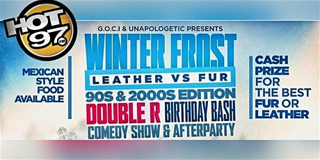 Hot 97 Annual Comedy show and 90s vs 2000s after party tickets