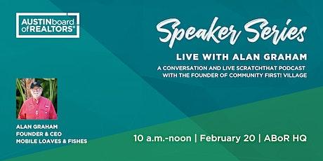 Speaker Series: Live with Alan Graham tickets