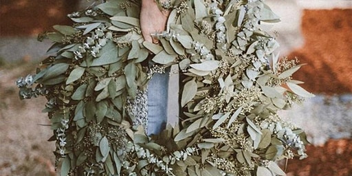 SOLD OUT!! Eucalyptus Wreath Workshop at Running Vines