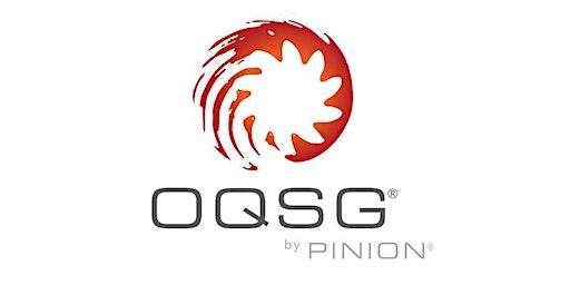 April OQSG Evaluator Training
